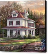Stone Terrace Farm Canvas Print by Chuck Pinson