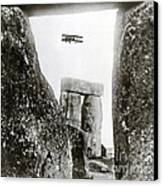 Stonehenge 1914 Canvas Print by Science Source