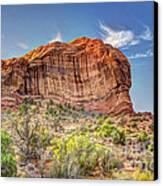 Stones Of The West Canvas Print by Wanda Krack