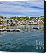 Stonington In Maine Canvas Print by Olivier Le Queinec