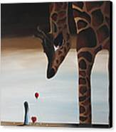 Stop To Love By Shawna Erback Canvas Print by Shawna Erback