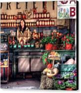 Store - Dreyer's Farm Canvas Print by Mike Savad
