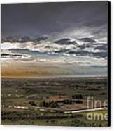 Storm Over Emmett Valley Canvas Print by Robert Bales