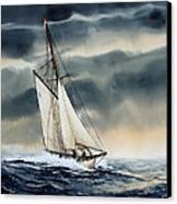 Storm Sailing Canvas Print by James Williamson