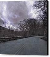 Stormy Blue Ridge Parkway Canvas Print by Betsy Knapp