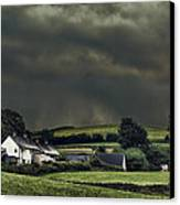 Stormy Hamlet Canvas Print by Amanda And Christopher Elwell