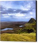 Storybook Beauty Of The Isle Of Skye Canvas Print by Mark E Tisdale