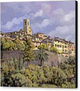 St.paul De Vence Canvas Print by Guido Borelli