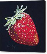 Strawberry Canvas Print by Aaron Spong