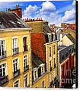 Street In Rennes Canvas Print by Elena Elisseeva