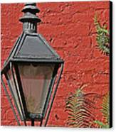 Street Lamp Canvas Print by Jeanne  Woods