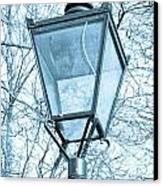 Street Lamp Canvas Print by Tom Gowanlock