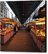 Street Scenes - Paris France - 011316 Canvas Print by DC Photographer