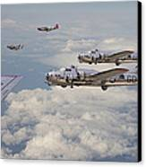 Strike Package Canvas Print by Pat Speirs