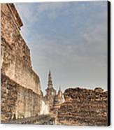 Sukhothai Historical Park - Sukhothai Thailand - 01138 Canvas Print by DC Photographer