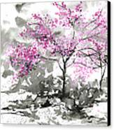 Sumie No.2 Plum Blossoms Canvas Print by Sumiyo Toribe