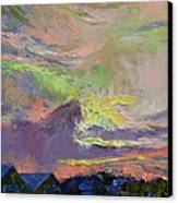 Summer Evening Canvas Print by Michael Creese