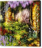 Summer - I Found The Lost Temple  Canvas Print by Mike Savad
