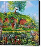 Summer In The Shire Canvas Print by Joe  Gilronan