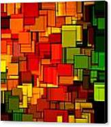 Summer Modern Abstract Art Xviii Canvas Print by Lourry Legarde