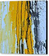 Summer Rein- Abstract Canvas Print by Ismeta Gruenwald