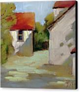 Summer Shadows Canvas Print by Joyce Hicks