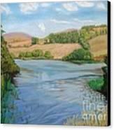 Summer Solitude Canvas Print by Yvonne Johnstone