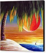 Summer Sunsets By Shawna Erback Canvas Print by Shawna Erback