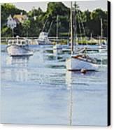 Summer's Eve Canvas Print by Karol Wyckoff