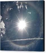 Sun Halo Canvas Print by Lainie Wrightson