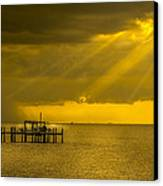 Sunbeams Of Hope Canvas Print by Marvin Spates