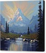 Sunburst Landscape Canvas Print by Richard Faulkner