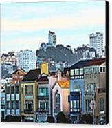 Sunday At Marina Green Park Fort Mason San Francisco Ca Canvas Print by Artist and Photographer Laura Wrede