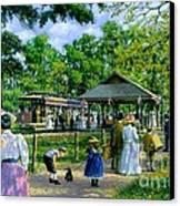 Sunday Picnic Canvas Print by Michael Swanson