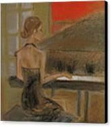 Sunday Recital Canvas Print by C Pichura