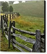 Sunrise Meadow - Blue Ridge Parkway I Canvas Print by Dan Carmichael