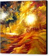 Sunrise Canvas Print by Michelle Dommer