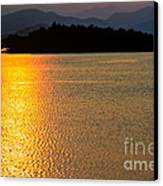 Sunset Asia  Canvas Print by Adrian Evans