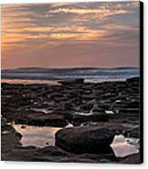 Sunset At The Tidepools IIi Canvas Print by Peter Tellone