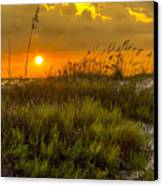 Sunset Dunes Canvas Print by Marvin Spates