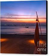 Sunset Lanta Island  Canvas Print by Adrian Evans