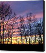 Sunset Of The Century Canvas Print by Christina Rollo