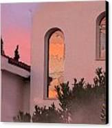 Sunset On Windows Canvas Print by Augusta Stylianou