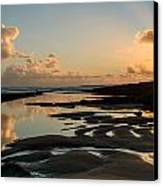 Sunset Over The Ocean IIi Canvas Print by Marco Oliveira