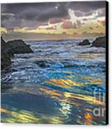 Sunset Reflections Canvas Print by Robert Bales