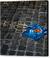 Superhero Canvas Print by Tim Gainey