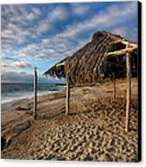 Surf Shack II Canvas Print by Peter Tellone