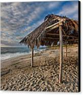 Surf Shack Canvas Print by Peter Tellone