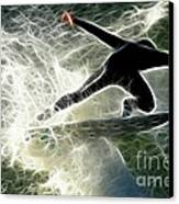 Surfing Usa Canvas Print by Bob Christopher