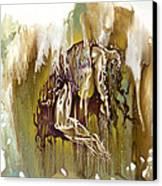 Surrender Canvas Print by Karina Llergo Salto